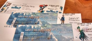 movie party tickets